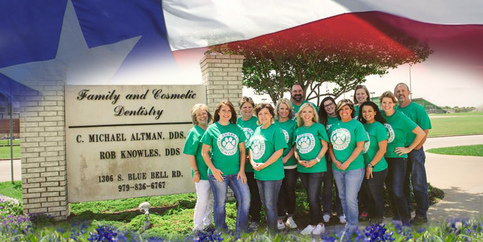 Altman Dentistry, Family and Cosmetic Dentists in Brenham Texas.